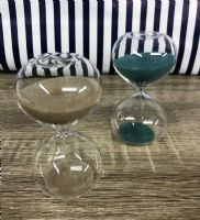 Decorative All Glass Egg Timer